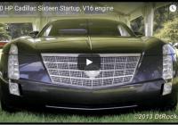 VIDEO: Pats retākais auto pasaulē – Cadillac Sixteen 16