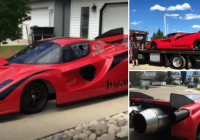 Ferrari ar aviācijas dzinējiem? Neticami – bet tas tik tiešām ir iespējams! (+foto)