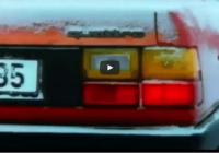 """Leģendārā Audi Quattro """"Ski-jump"""" reklāmu izlase un fakti (+video)"""