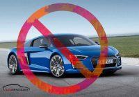Audi R8 e-tron ražošana tikusi oficiāli apturēta!