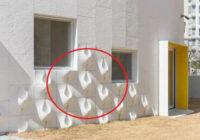 Kad kaimiņi uz mājas fasādes uzbūvēja dīvainas konstrukcijas, visi apkārtējie smējās. Taču, kad uzlija pirmais lietutiņš, viņu smieklus nomainīja skaudība