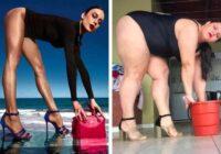 Brazīliete ar izcilu humora izjūtu kopē dažādus foto, un viņai sanāk ne sliktāk par oriģinālu