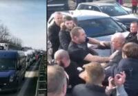 Latvietis par situāciju uz Polijas robežas: Esam bruņotu policistu ielenkumā (+VIDEO)