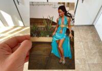 17 gados izskatījos vecāka kā 28 gados. Un foto tā ir mana izlaiduma kleita!
