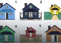 Izvēlies māju, kurā vēlētos dzīvot un uzzini vairāk par savu personību
