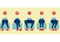 Izvēlies, kā tu visbiežāk sēdi: tas var atklāt daudz par jūsu personību